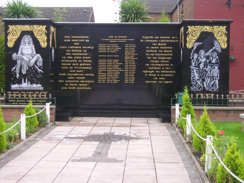 Monumento ai Caduti di Falls Road, Belfast