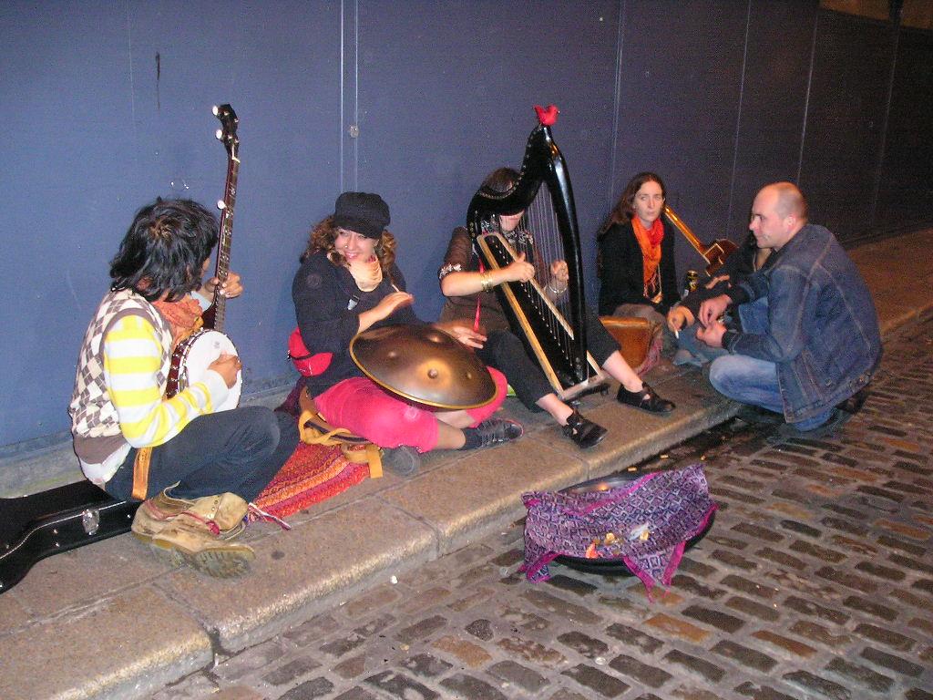 Musicisti di strada, Dublino