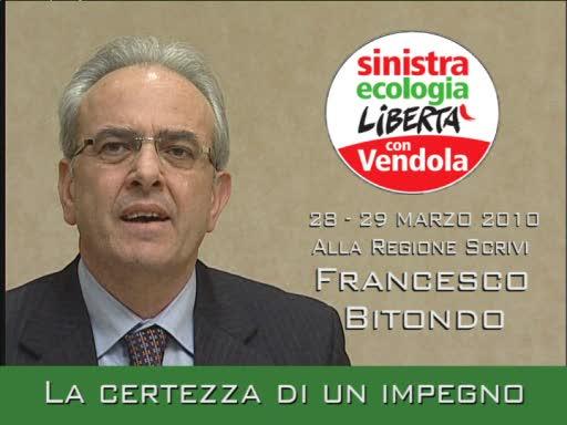 Video thumbnail for Francesco Bitondo alla Regione