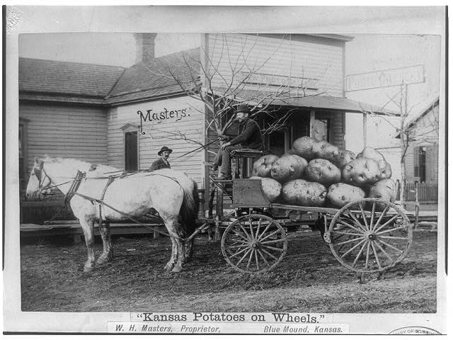 Kansas Potatoes on Wheels