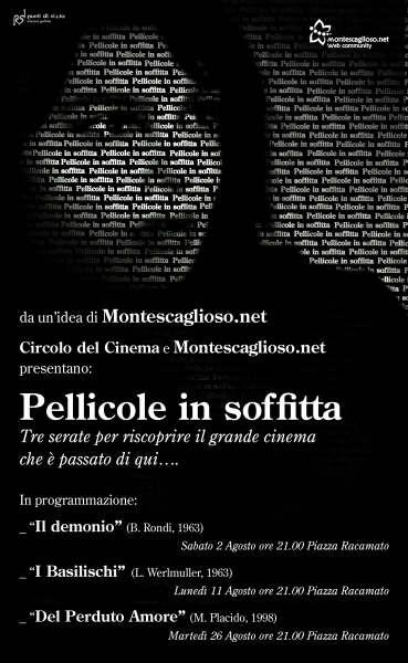 Pellicole in Soffitta.