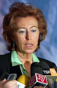 Il ministro dell'istruzione Letizia Moratti
