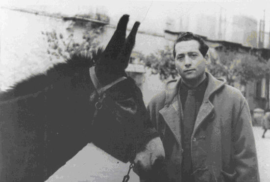 Il poeta e sindaco di Tricarico Rocco Scotellaro