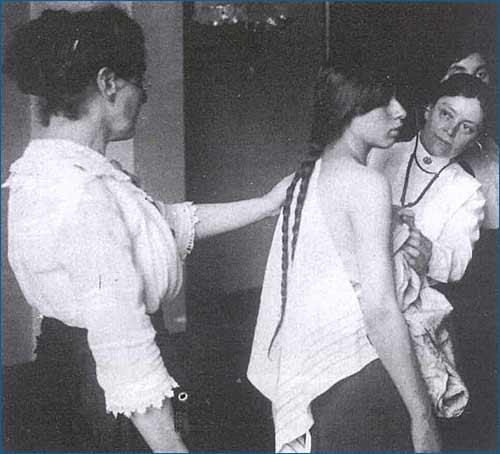Visita medica a Ellis Island