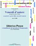 Ulderico Pesce presenta il suo libro