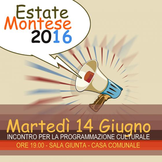 ESTATE MONTESE – Manifestazioni di Interesse