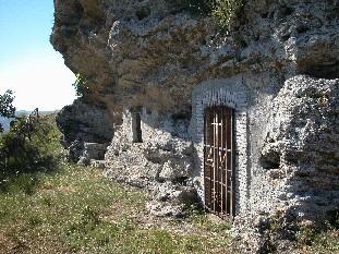 Acerenza: grotta di S. Michele.