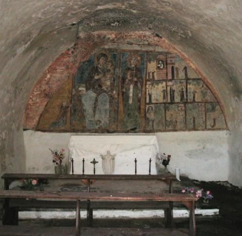Melfi: cripta di S. Lucia