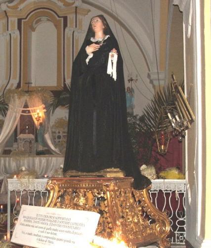 Chiesa di S. Rocco: L'Addolorata
