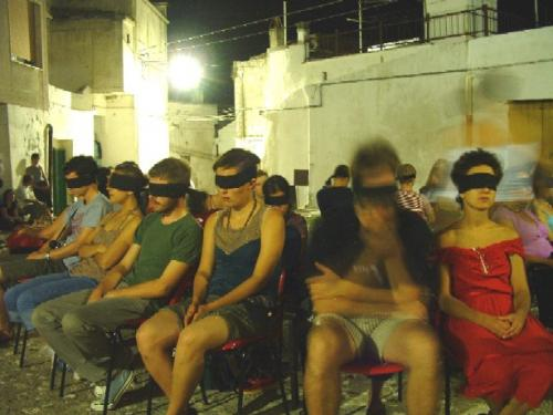Blind theater