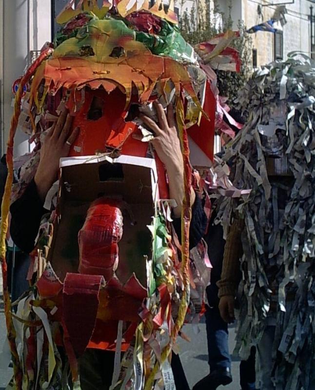 Maschere di Carnevalone.