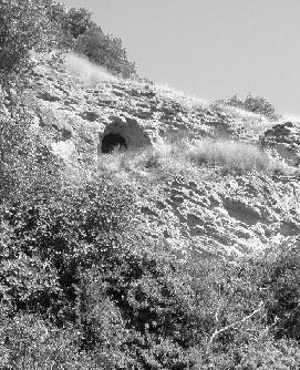 Forenza: chiesa rupestre di S. Biagio.