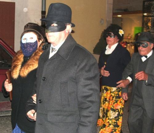 Carnevale: corteo nunziale.