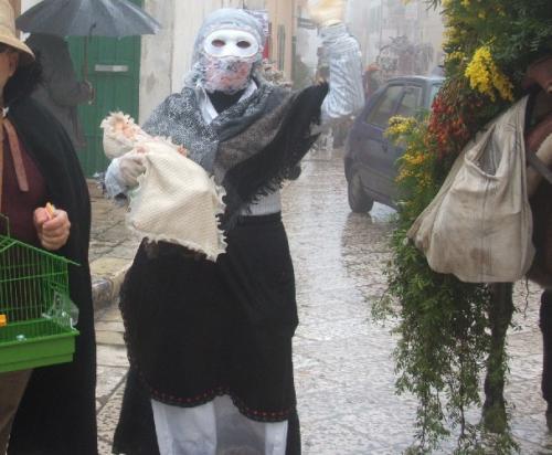 La Fortuna e la Quaremma con in braccio Carnevalicchio;