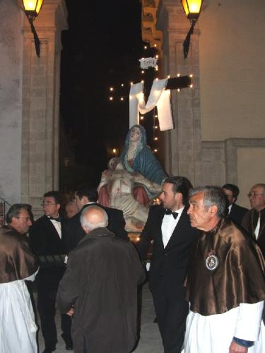 Venerdì Santo: uscita della Pietà da S. Angelo
