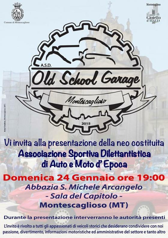 Old School Garage Montescaglioso – Auto e Moto d'Epoca
