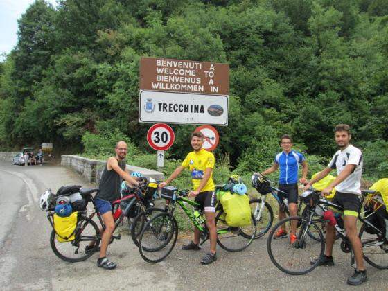 Basilicata coast to coast in bike 2