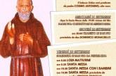 programma S.Pio da Pietrelcina 2016 Convento Frati Minori Cappuccini