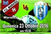 Calcio:Montescaglioso in trasferta a Maratea