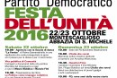 PD Festa Dell'Unità  22-23 Ottobre Montescaglioso