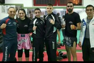 Kickboxing: Sparring day