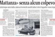 """Processo sulla """"faida"""" di Montescaglioso del 1991: assolti i dieci imputati"""