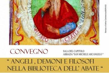 """Montescaglioso, """"Angeli, Demoni e Filosofi nella bibblioteca dell Abate"""""""