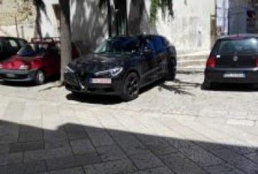 Montescaglioso l' Alfa Romeo SUV prototipo 2018 della Stelvio ?