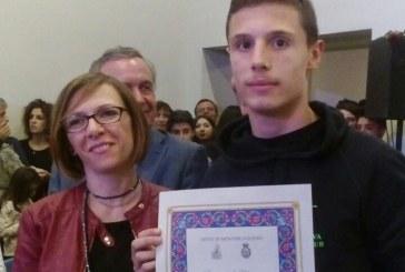 Kickboxing: Michele Dichio premiato dal Sindaco e dalla giunta