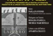 """A.I.D.E. Donne2019 presenta a Matera  il romanzo """"Lazzaro"""""""