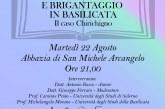 """Montescaglioso, Controrivoluzione e Brigantaggio in Basilicata"""" il caso Chirichigno"""