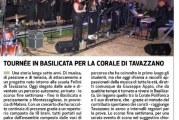 Successo a Montescaglioso per la tournèe in Basilicata per la Corale di Tavazzano