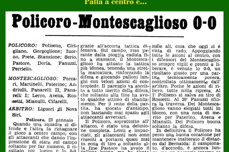 Policoro-Montescaglioso 0-0
