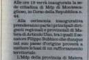 Articolo 1- MDP inagura la sede