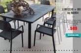EXTRA SCONTO DEL 10% su set pranzo Libeccio NARDI da 01 Design ….