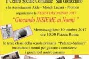 Festa dei Nonni  Millepiazze 2017  a Montescaglioso