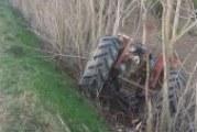Incidente con il trattore: intervento dell'elicottero