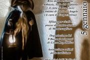 Montescaglioso, 5 gennaio La notte dei #Cucibocca