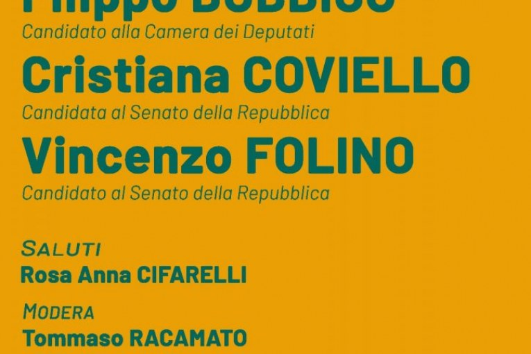 Montescaglioso, apertura campagna elettorale LeU