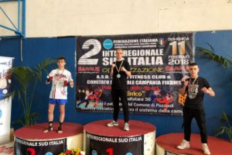 Montescaglioso, ancora successi nella Kickboxing per il montese Michele Dichio