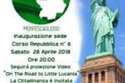 """Montescaglioso, Proiezione del docu-film """"On the road to Little Lucania"""""""