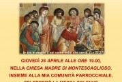 Montescaglioso, invito sacro 10 anni di Sacerdozio di Don Gabriele