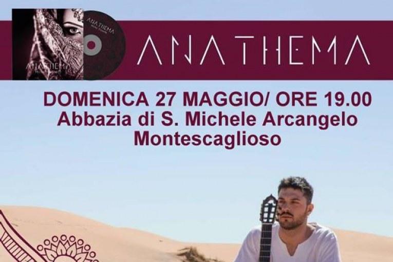 Montescaglioso, Mirko Gisonte presenta il suo album ANATHEMA