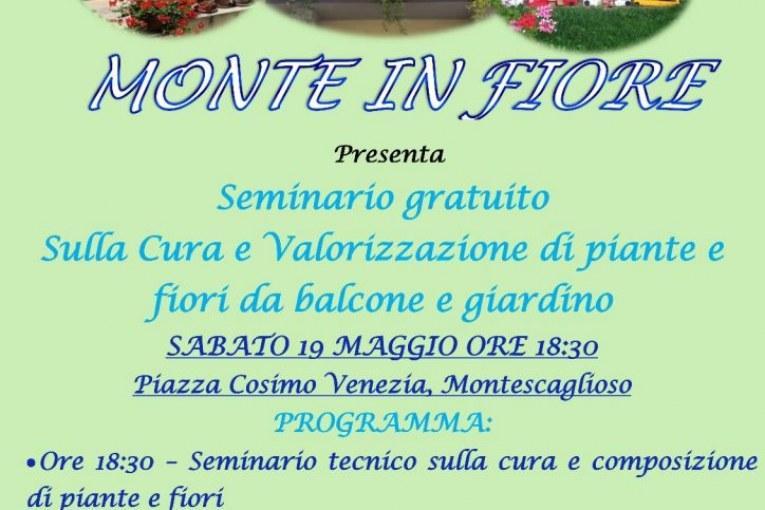 Montescaglioso, Monte in Fiore 2 Seminario