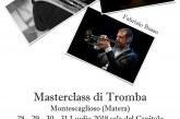 Montescaglioso, Masterclass di Tromba