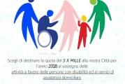 destinazione 5×1000 per attività sociali Comune di Montescaglioso