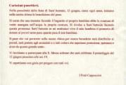 Lettera ai panifici di Montescaglioso