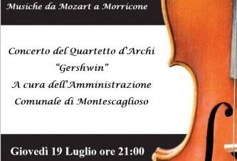 Montescaglioso, Armonie nel Tempo, musiche da Mozart a Morricone
