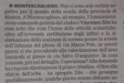 Buone notizie per i plessi scolastici montesi