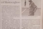Anticipo a Tolve per il Montescaglioso Calcio